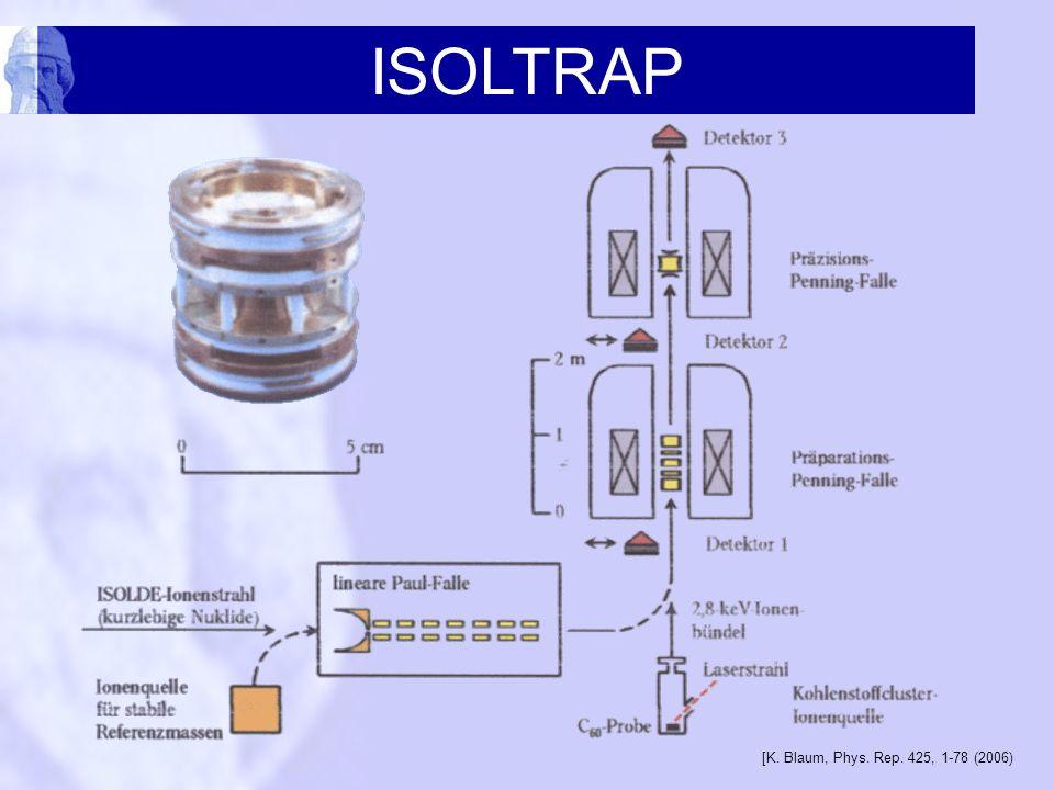 ISOLTRAP [K. Blaum, Phys. Rep. 425, 1-78 (2006)